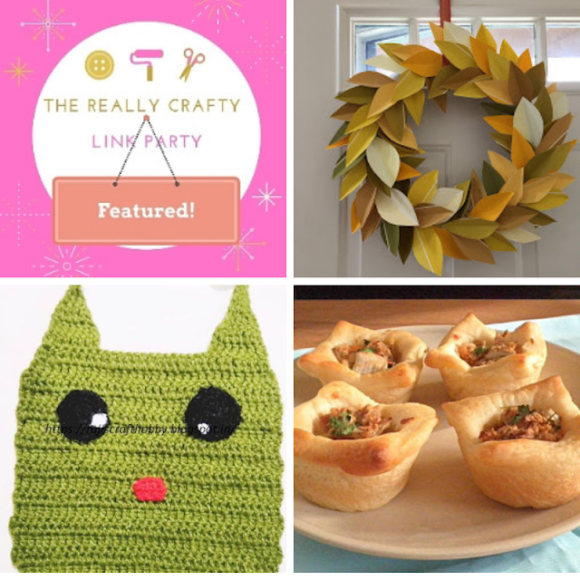 The Really Crafty Link Party #168 featured posts