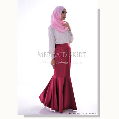 rok pesta, rok duyung, rok mermaid, rok panjang pesta, mermaid skirt, rok pesta muslimah, rok pesta model duyung, rok pesta panjang