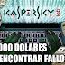 Kaspersky ofrece hasta 100.000 dólares a los que encuentren fallos en sus productos