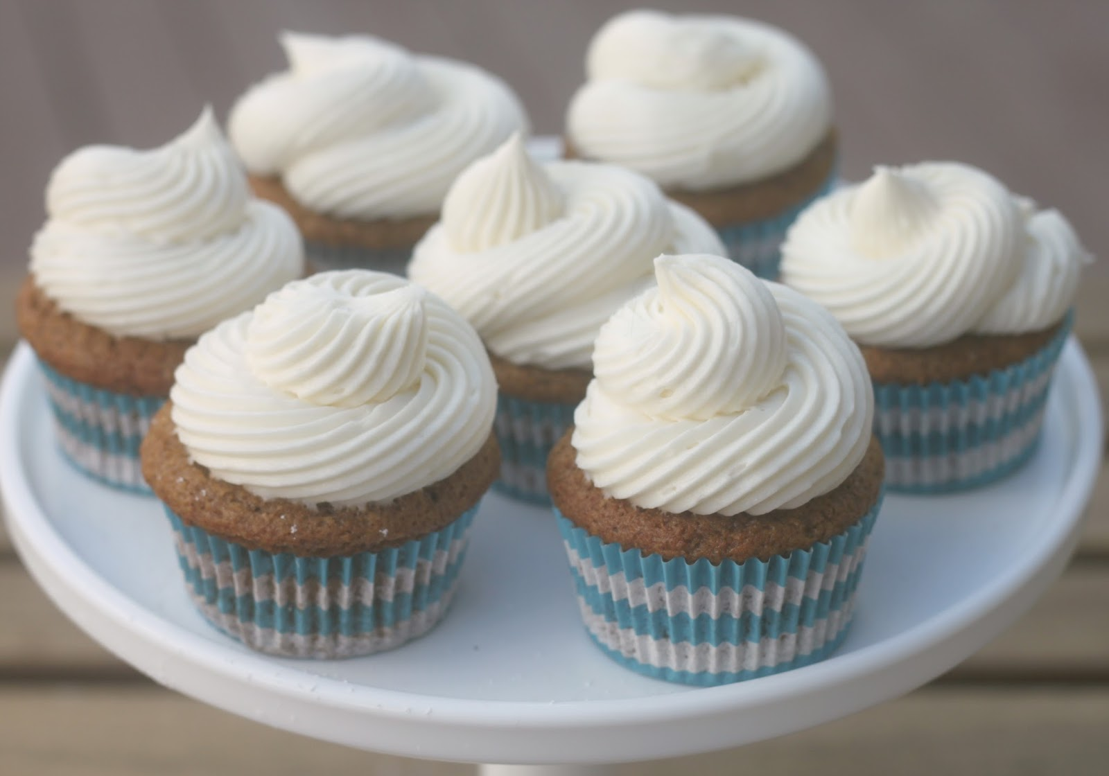 ... and more: Pumpkin Cupcakes with Cream Cheese Buttercream Frosting