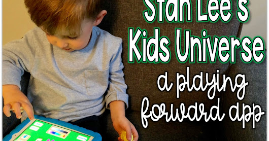 Stan Lee's Kids Universe - A Playing Forward App