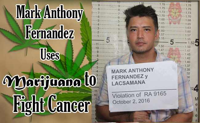 Mark Anthony Fernandez Uses Marijuana to Fight Cancer
