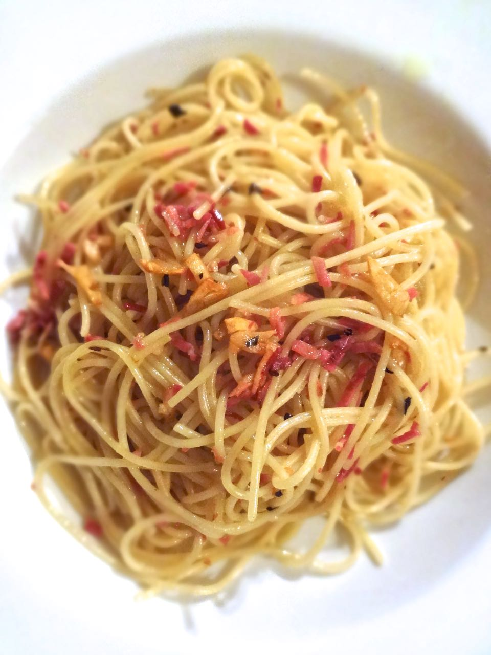 Five Simple Ingredients One Great Supper Aglio E Olio Many Claim Is The Simplest Pasta Sauce In The Entire Italian Culinary Canon