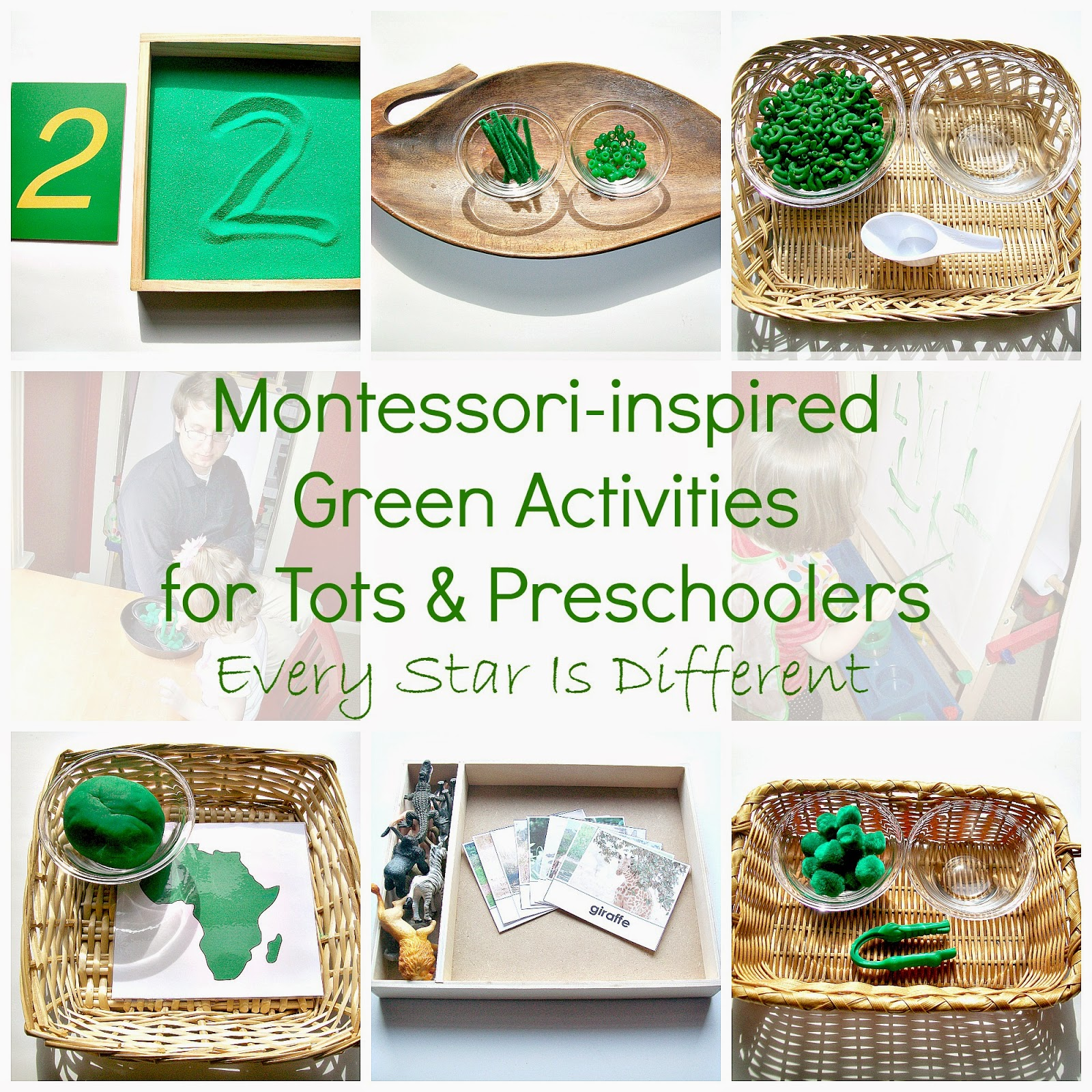 Montessori-inspired Green Activities for Tots & Preschoolers