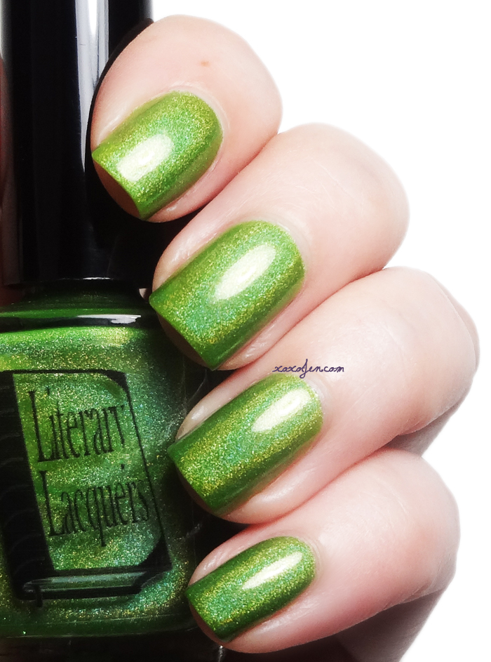 xoxoJen's swatch of Literary Lacquer Who Which Whatsit