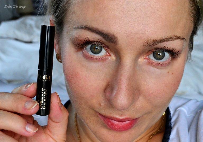 Delia Cosmetics Eyebrow Expert Kremowa maskara do brwi - Brązowa