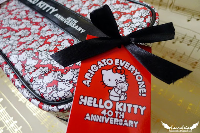 Hello Kitty 40th Anniversary vanity bag