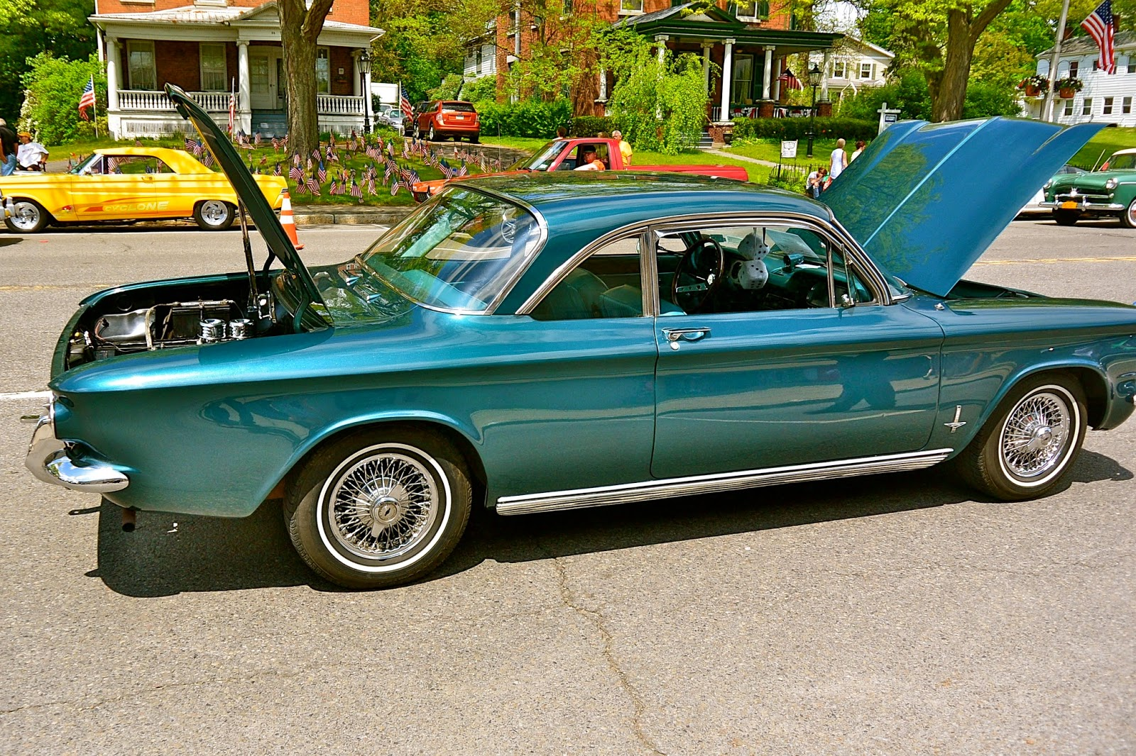 Of All The Corvairs Sold In 1963 Fully 80 Were Monzas Convertible Model Counted For Over 20 Sporty Image Meant Profits
