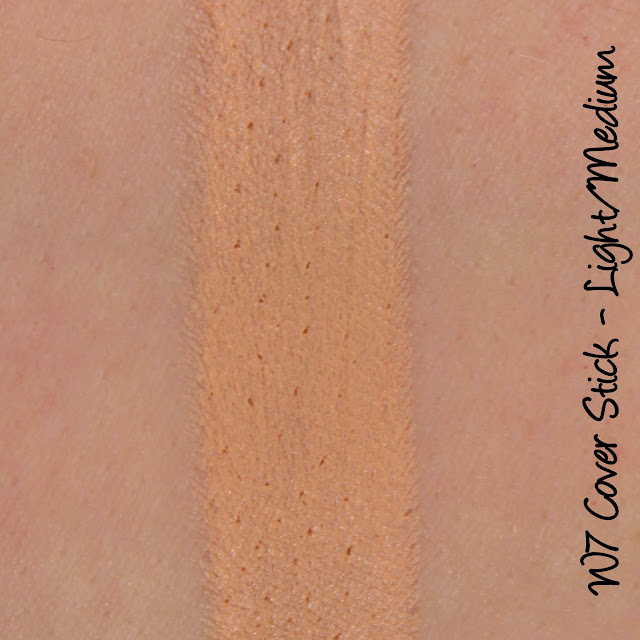 W7 Cover Stick - Light-Medium Swatches & Review
