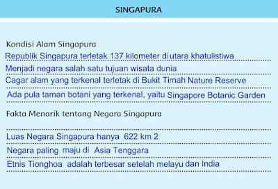 Fakta Singapura