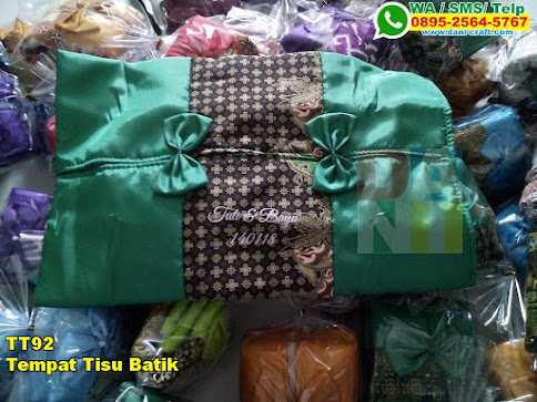 Grosir Tempat Tisu Batik