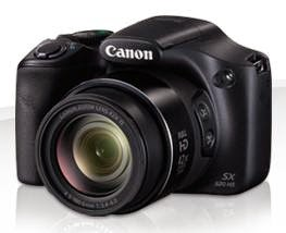 Canon Launches PowerShot SX520 HS & SX400 IS