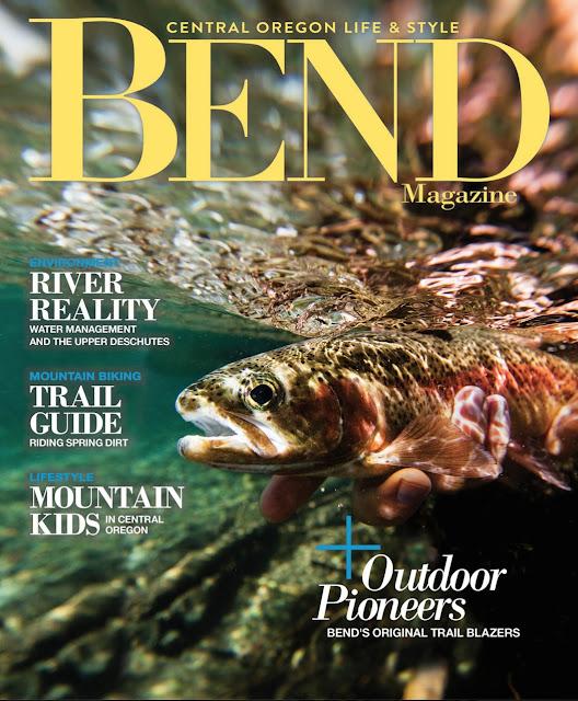 Flyfishing Mckenzie River Bend Oregon.