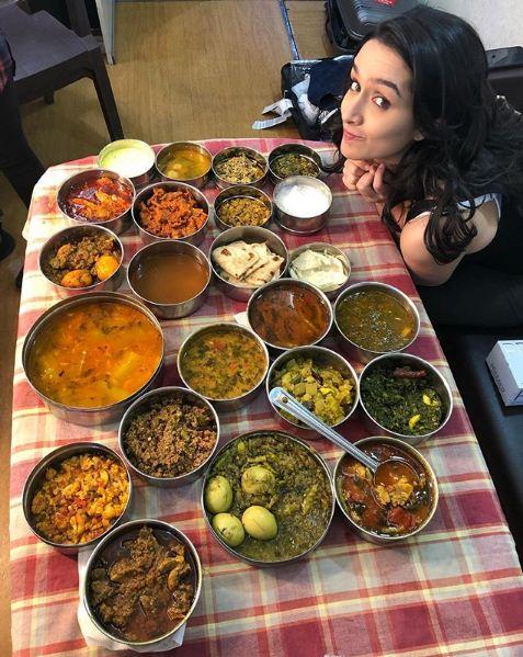 Shraddha Kapoor Foodie