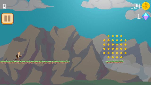 Amazon rush - 2D free running android & iOS gameplay