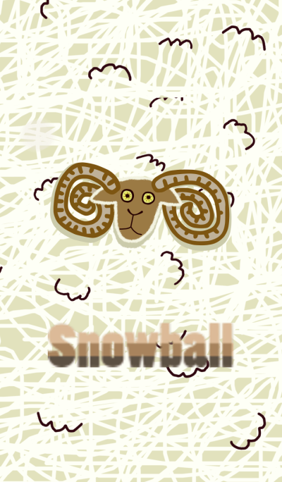 Snowball the Sheep