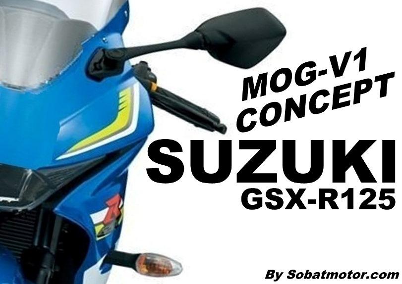 Iseng utak atik gambar, lahirlah Suzuki GSX-R125 MOG-V1 Concept !