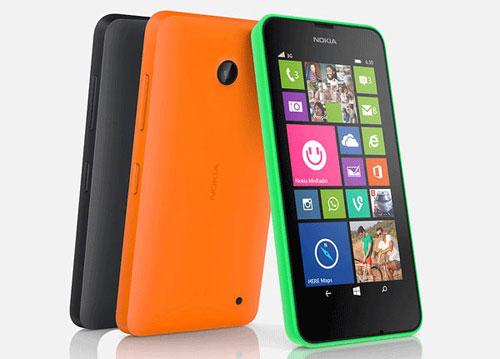 Nokia Lumia 630 Resmi Hadir di Indonesia