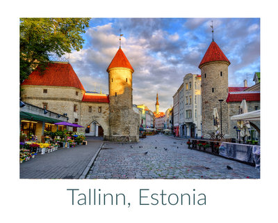 On My Mind ♥ KitchenParade.com, visiting Estonia during an especially interesting time