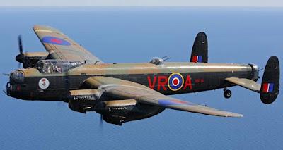 Pesawat Bom Avro Lancaster Inggris