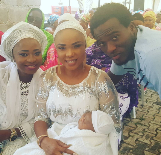 adewunmi fatai naming ceremony