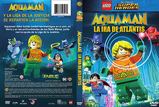 Aquaman la ira de Atlantis - Cover DVD