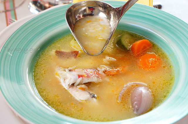 Greek Traditional Fish Soup