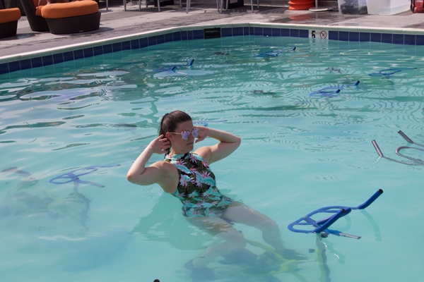 Naturally Me, Splash Cycle, Splash Cycle Class, Splash Cycle Review, DC Workouts, Fitfam, DC events, DC blogger, Embassy Row Hotel, Embassy Row Hotel Rooftop, Target Swimsuit, Sporty Swimsuit, Ab workout, Splash Cycle Ab workout