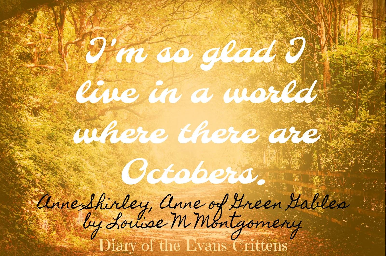 , October is …