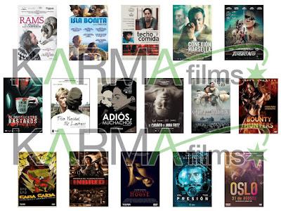 Lanzamientos de abril en DVD y Blu-ray de Karma Films