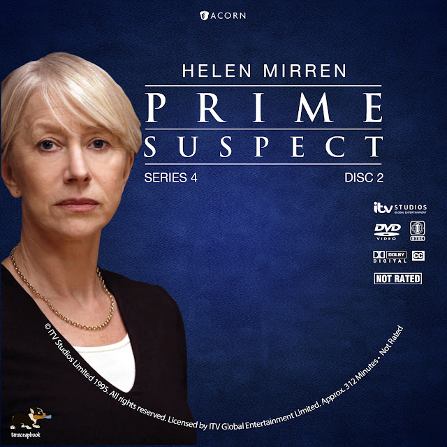 Prime Suspect Season 4 Disc 2 DVD Label