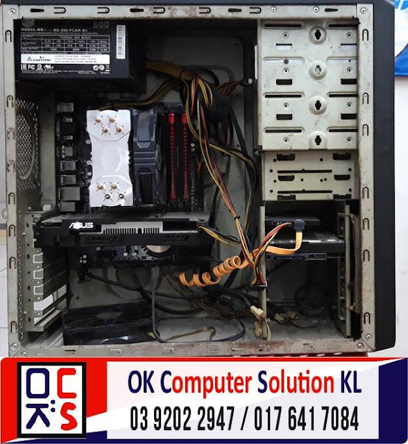 [SOLVED] SERVICE CLEAN DUST ASUS DESKTOP PC | REPAIR LAPTOP CHERAS 1