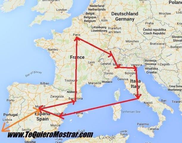 Como viajar por europa con poco presupuesto te quiero for Como ir de barcelona a francia