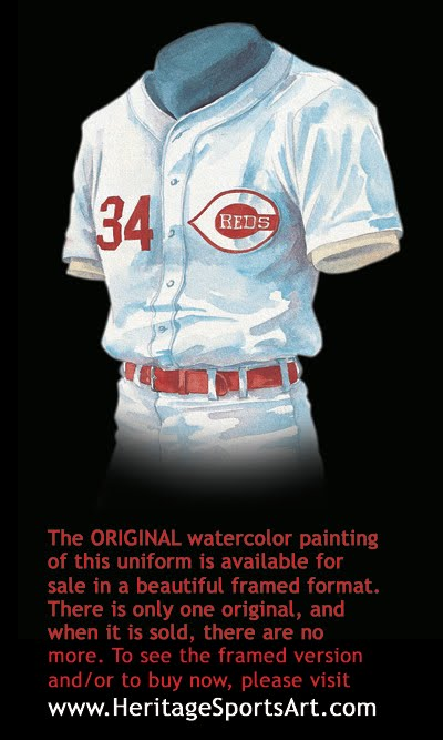 Cincinnati Reds Uniform And Team History Heritage
