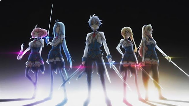 Undefeated Bahamut Chronicle - Top Fantasy School Anime List