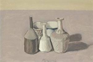 Morandi's 1956 painting Natura Morta
