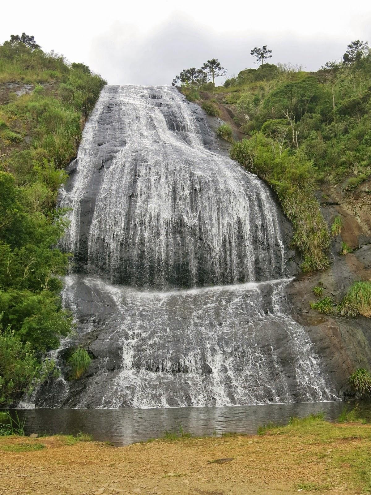 Cachoeira Véu da Noiva, em Urubici