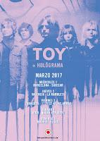 Holögrama y Toy de gira por España