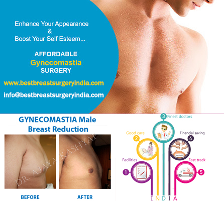 Male Breast Reduction for Firmer Breast