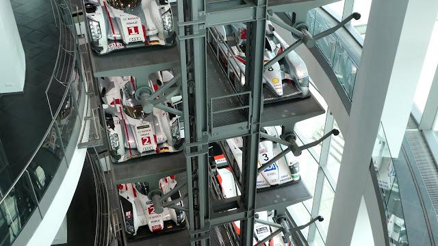 Audi's Le Mans winning LMP1 cars -  Audi Forum Ingolstadt