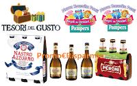 Logo Ti-Frutta : nuovi coupon Peroni e punti omaggio Pampers e Tesori del Gusto