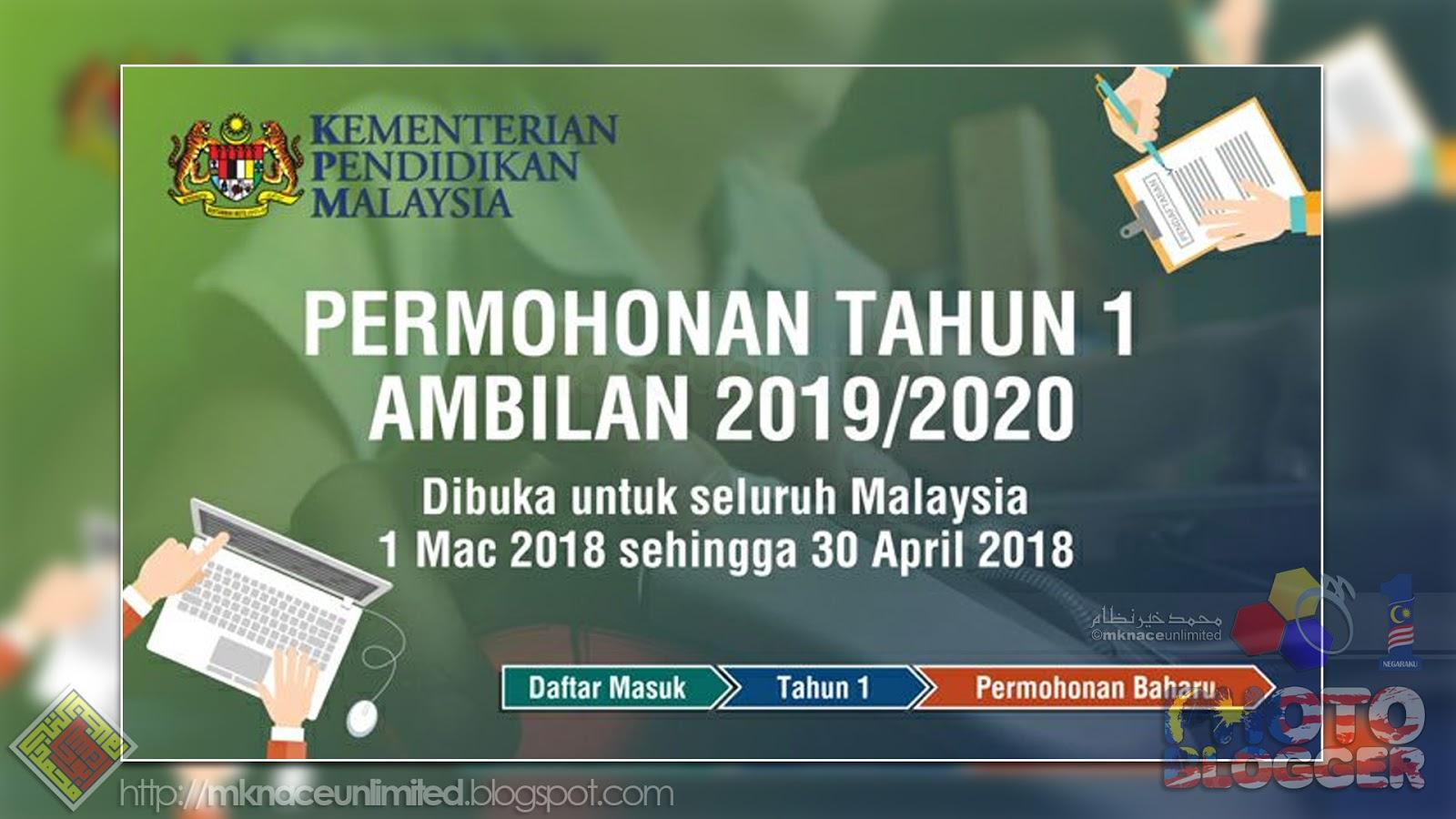 Permohonan Tahun 1 Ambilan 2019/2020