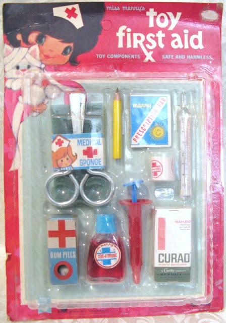 kit de médico / enfermeira antigo