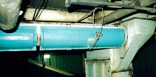 FRP trough heater