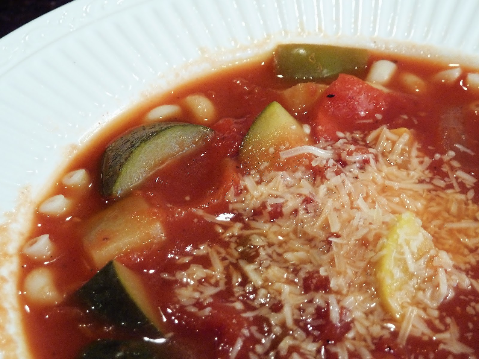 ... Kitchen Chronicles: Recipe Swap: Chunky Italian Vegetable Soup