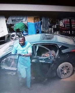 Watch Video Footage from a Robbery at Zenith Bank Owerri Today