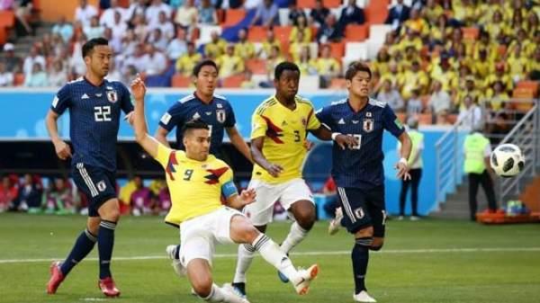 Jepang vs Kolombia