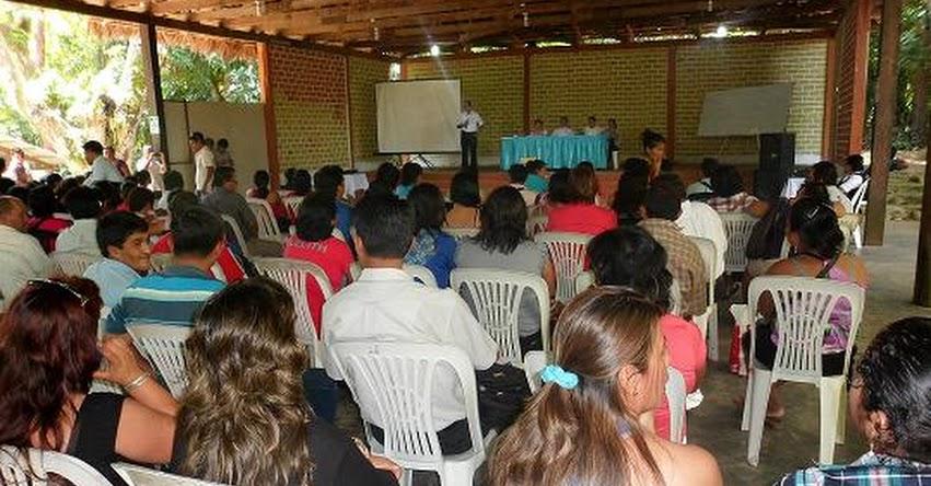 SINEACE impulsa la calidad educativa en la región San Martín