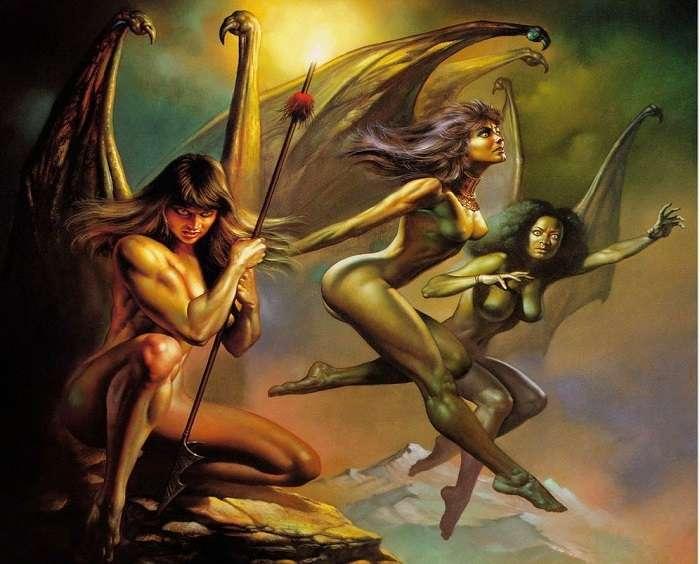 Fúrias (Erínias) - Criatura Mítica