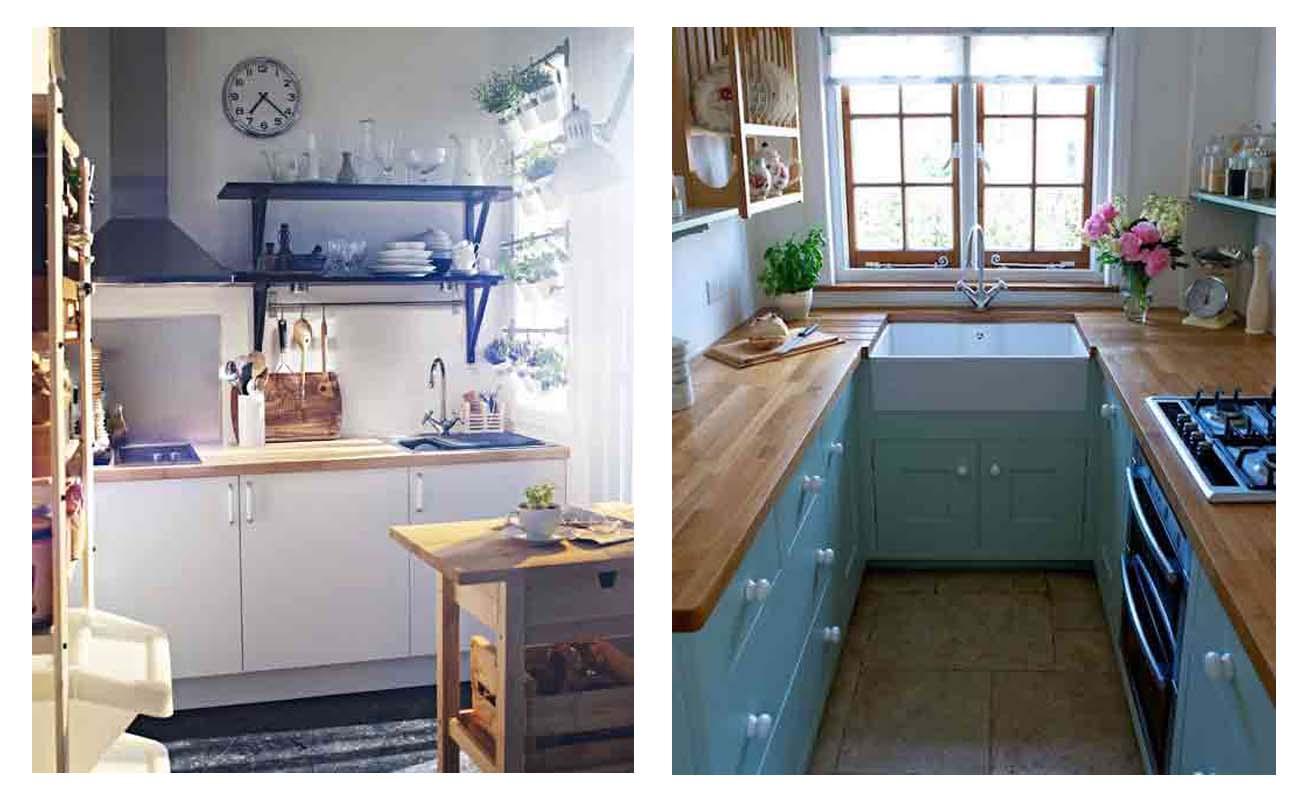 Idee per la tua cucina arredamento facile for Arredamento per case piccole